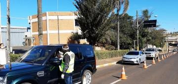 Posto de Controle Sanitário monitorou mais de 14 mil pessoas em acessos à cidade