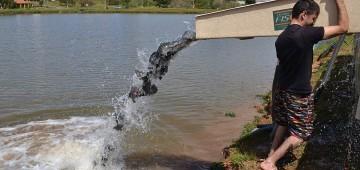 Pescaria no lago da Brabância acontece neste final de semana