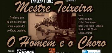 Instrumentista Teixeira será homenageado em documentário