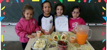 Educação promove projeto sobre alimentação saudável