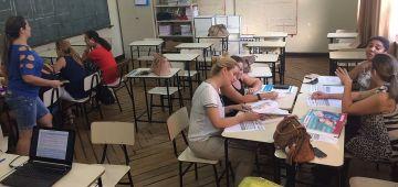 Professoras participaram da formação sobre o PNAIC