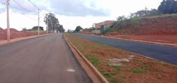 Pavimentação da Avenida Santa Bárbara é concluída