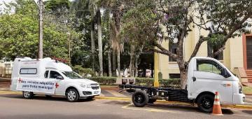 Dois novos veículos são incorporados à Frota Municipal