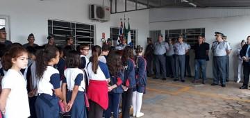"""Polícia Militar inicia trabalhos do programa """"Escolinha da PM 2019"""""""