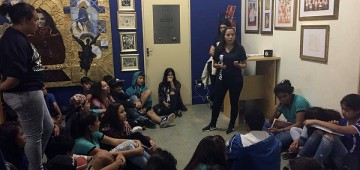 Semana Djanira mobiliza estudantes para artes na CAIC