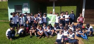 Sala Verde recebe visita de alunos da EMEI Duílio Gambini