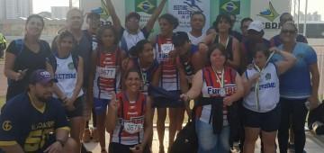 Equipe com avareenses sai vitoriosa em competição de atletismo adaptado