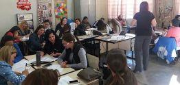 Professores participaram da primeira capacitação
