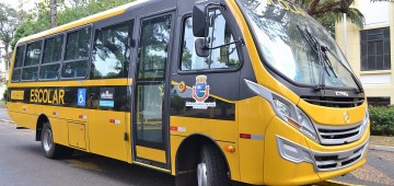 Novo ônibus vai reforçar transporte de alunos da educação básica