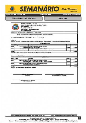 Semanário Oficial - Ed. 461