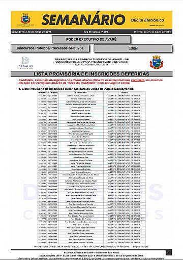 Semanário Oficial - Ed. 302