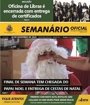 Semanário Oficial - Ed. 941