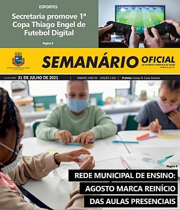 Semanário Oficial - Ed. 1025
