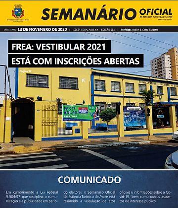 Semanário Oficial - Ed. 988