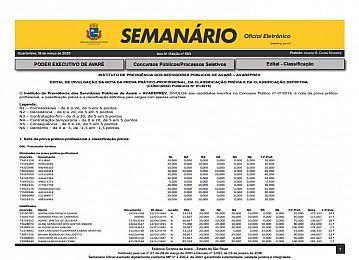 Semanário Oficial - Ed. 583
