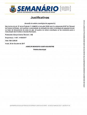 Semanário Oficial - Ed. 54