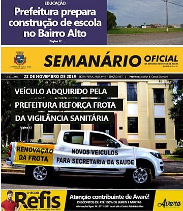 Semanário Oficial - Ed. 937