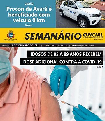 Semanário Oficial - Ed. 1031