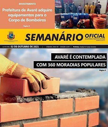 Semanário Oficial - Ed. 1034