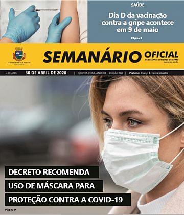 Semanário Oficial - Ed. 960