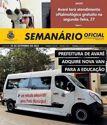 Semanário Oficial - Ed. 1033