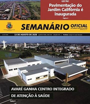 Semanário Oficial - Ed. 975