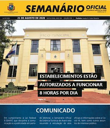 Semanário Oficial - Ed. 976