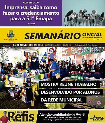 Semanário Oficial - Ed. 936