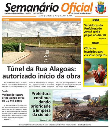 Semanário Oficial - Ed. 816