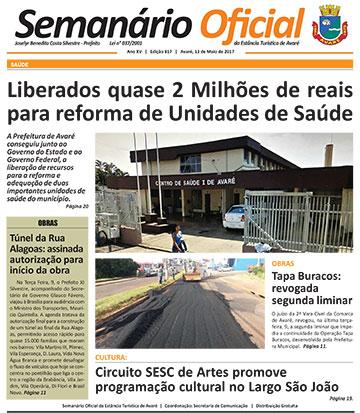 Semanário Oficial - Ed. 817