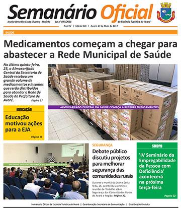 Semanário Oficial - Ed. 819