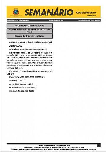 Semanário Oficial - Ed. 455