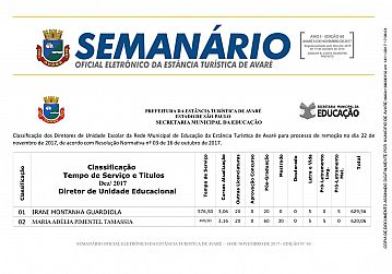 Semanário Oficial - Ed. 60