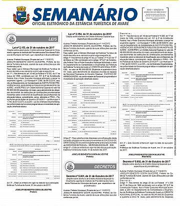 Semanário Oficial - Ed. 55