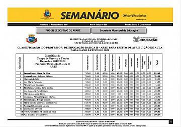 Semanário Oficial - Ed. 513