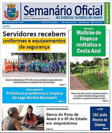 Semanário Oficial - Ed. 702