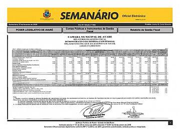 Semanário Oficial - Ed. 565