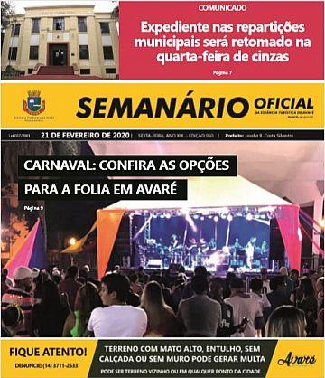 Semanário Oficial - Ed. 950