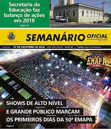 Semanário Oficial - Ed. 887