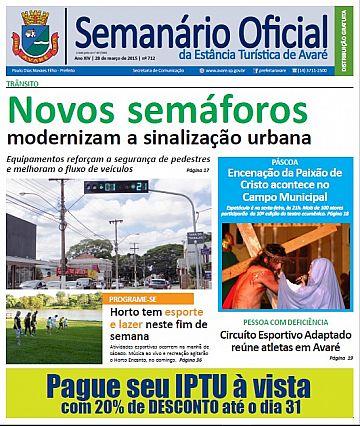 Semanário Oficial - Ed. 712