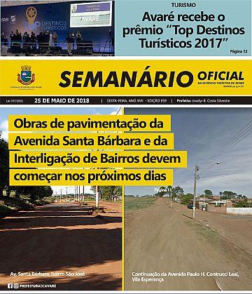 Semanário Oficial - Ed. 859