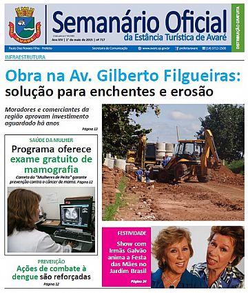 Semanário Oficial - Ed. 717