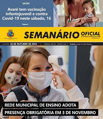 Semanário Oficial - Ed. 1036