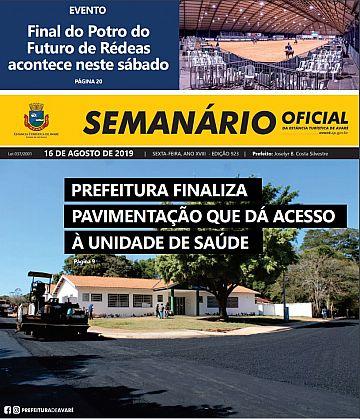 Semanário Oficial - Ed. 923