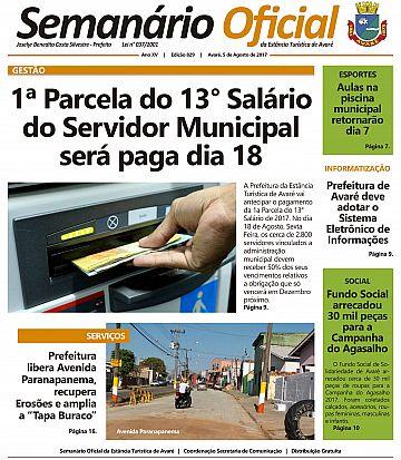 Semanário Oficial - Ed. 829