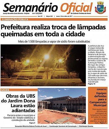 Semanário Oficial - Ed. 828