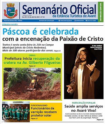 Semanário Oficial - Ed. 713