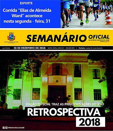 Semanário Oficial - Ed. 890