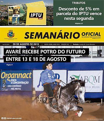 Semanário Oficial - Ed. 922