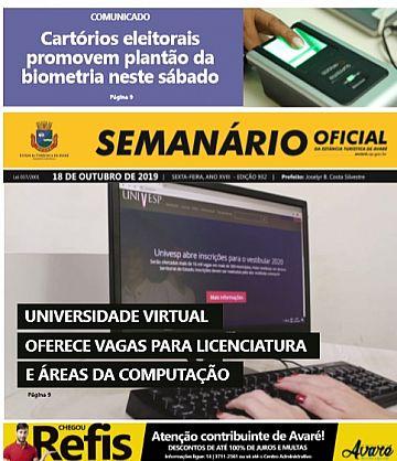 Semanário Oficial - Ed. 932